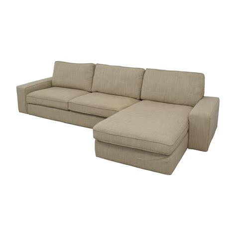 ikea kivik sectional 50 off ikea ikea kivik sectional in hillared beige sofas