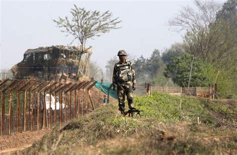 india pak india installs laser walls at border with pakistan nbc