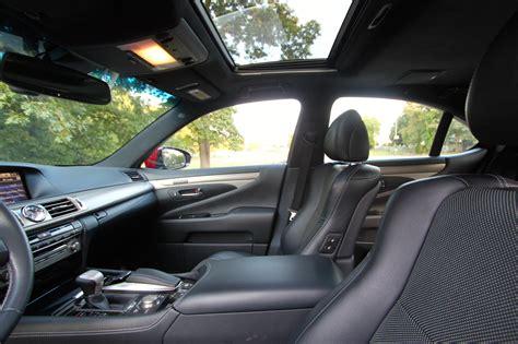 lexus ls interior 2013 lexus ls 460 f sport review