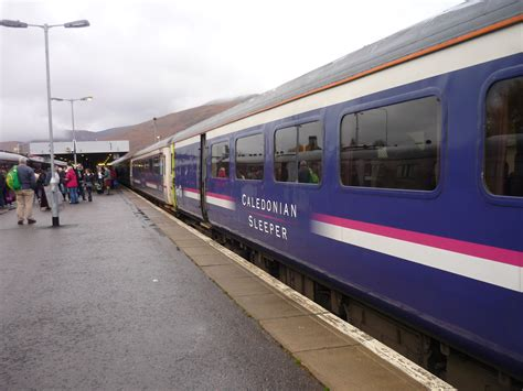 Sleeper To Fort William by File Caledonian Sleeper In Fort William Jpg Wikimedia