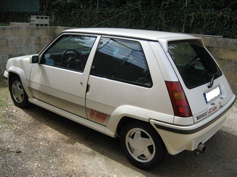 renault super 5 fiche technique renault super 5 gt turbo 1985 1987 auto