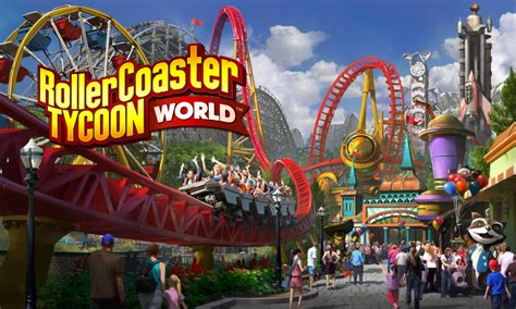 roller coaster world planet coaster vs rollercoaster tycoon world gamerbolt
