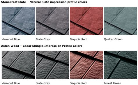 Aluminum Metal Roof Colors - metal roof colors how to select the best color for a new