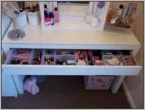 makeup storage desk makeup storage desk ikea desk home design ideas