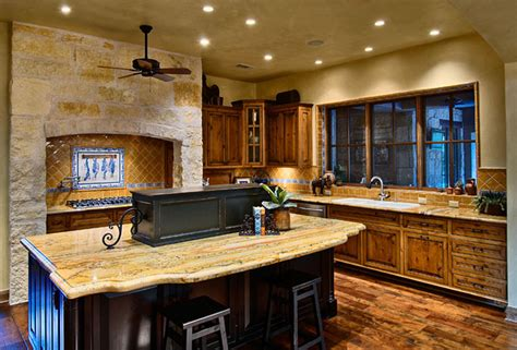 Hill Kitchen Design | hill country ranch kitchen traditional kitchen