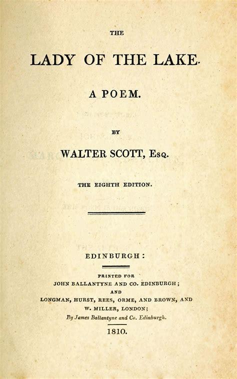 lady   lake poem wikipedia