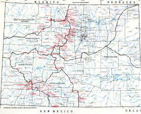 maps of colorado colorado map