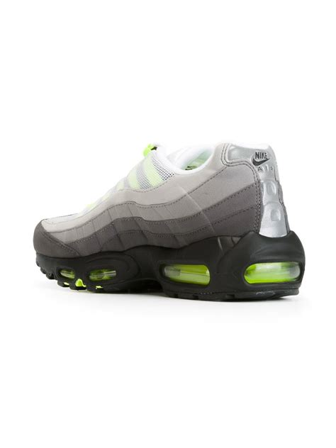 sneakers nike air max nike air max 95 sneakers in yellow for grey lyst