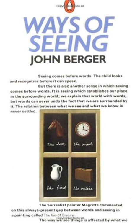 Berger L Reviews by Ways Of Seeing By Berger Reviews Discussion