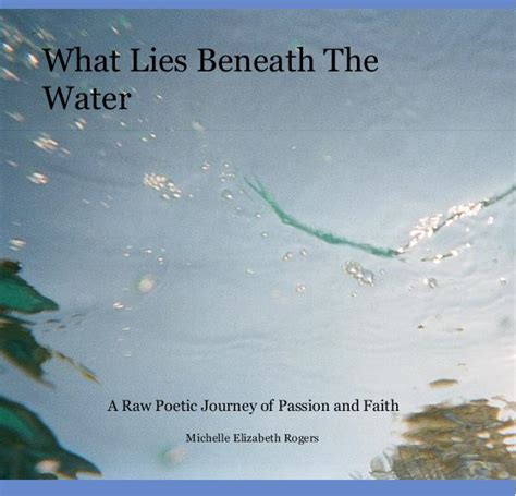 what lies beneath the water by elizabeth rogers