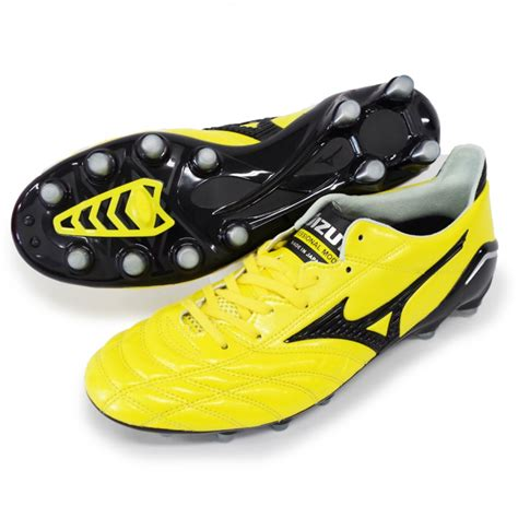 mizuno shoes football mizuno soccer shoes morelia neo p1ga1510 yellow x black ebay