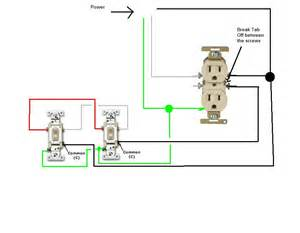 3 way electrical outlet wiring diagram get free image