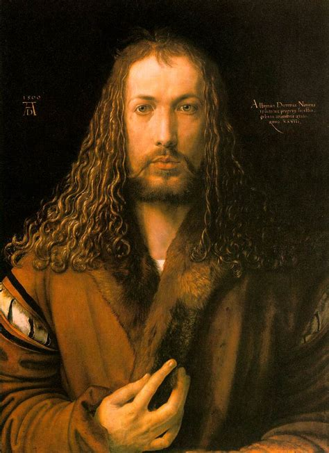 portrait in the genius of albrecht d 252 rer revealed in four self