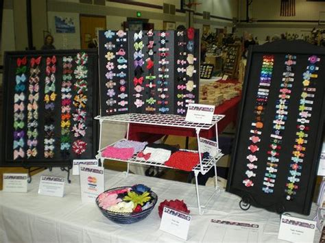 craft show display hip girl boutique llc free hair bow craft show booth hair accessories 1st craft show