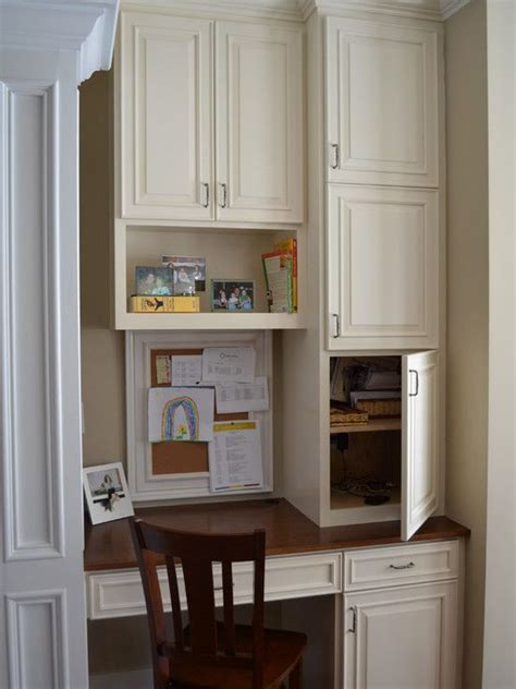 Small Kitchen Desk Area For The Home
