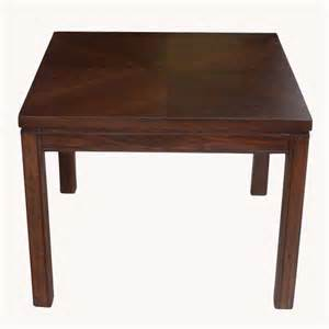 Low Side Table 28 Quot Square Vintage Walnut Parquet Low Side Table Ebay