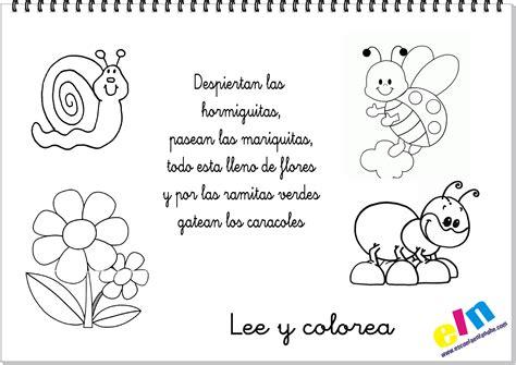 poemas de insectos para ninos primavera 4 clase primavera pinterest poemas
