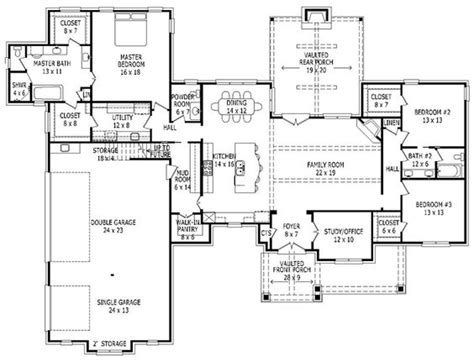 House Plan 940 00009 Craftsman Plan 2 700 Square Feet 2700 Sq Ft House Plans