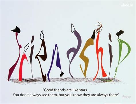 happy friendship day  colorful friendship quote