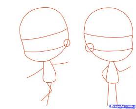 To draw a chibi person step by step chibis draw chibi anime draw