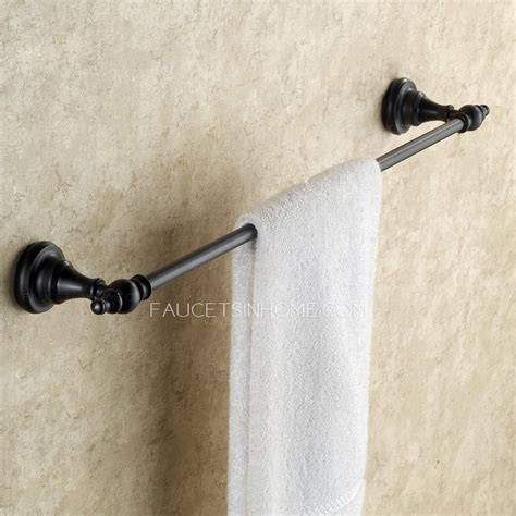 black bathroom towel bar black european style oil rubbed bronze towel bars