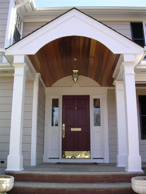 simple portico for clapboard sided home designed by georgia front porch porticos with curb top 28 portico designs for front door portico designs