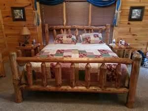 Log Cabin Bed Frame Log Cabin Bed Frame Home