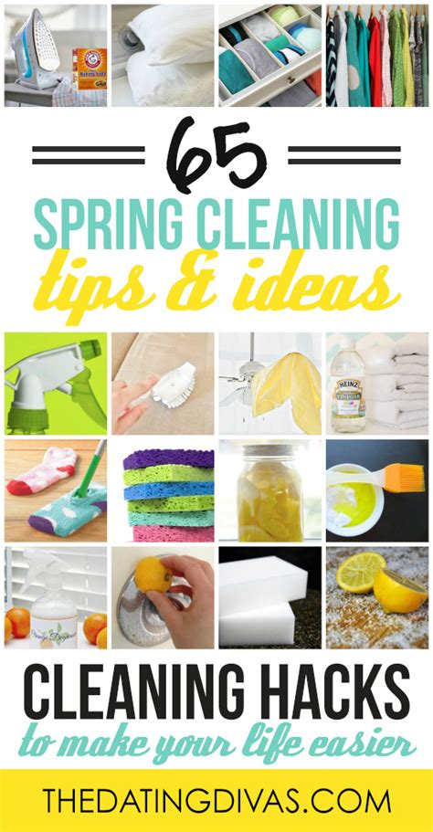 spring cleaning ideas 65 spring cleaning tips and ideas