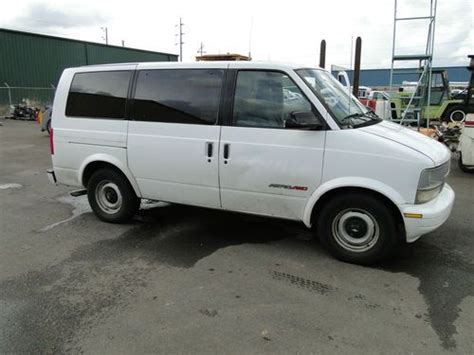automotive air conditioning repair 2004 chevrolet astro transmission control buy used 2000 chevrolet astro van awd 4 6l 8 passenger in salem oregon united states