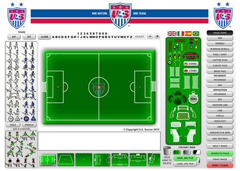 customisation services academy soccer coach asc