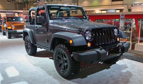 Jeep Dealers Florida Special Edition Willys Wheeler Wrangler Is Awesome Jeep