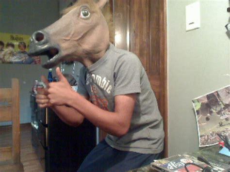 Horse Mask Meme - image 128501 horse head mask know your meme