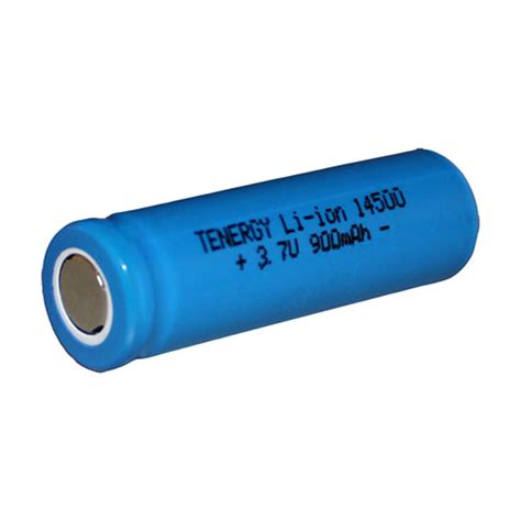 lithium ion 14500 aa rechargeable battery 3 7v 900mah