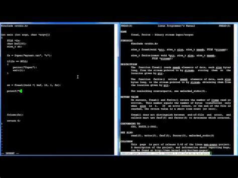 tutorial gcc linux c programming in linux tutorial 038 fopen fread