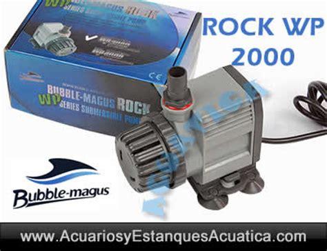 Magus Wp 6000 bm bomba de agua 2000 rock wp para acuarios buuble magus salada