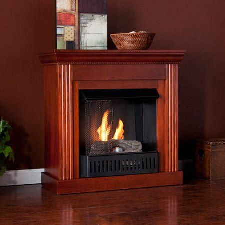 gel fuel corner fireplace corner gel fuel fireplace mahogany walmart