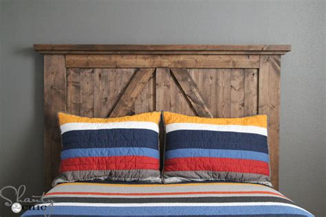 50 Outstanding Diy Headboard Ideas To Spice Up Your Diy Barn Door Headboard