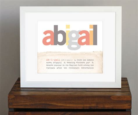 decor meaning custom name personalized print with meaning of name by c is for color contemporary