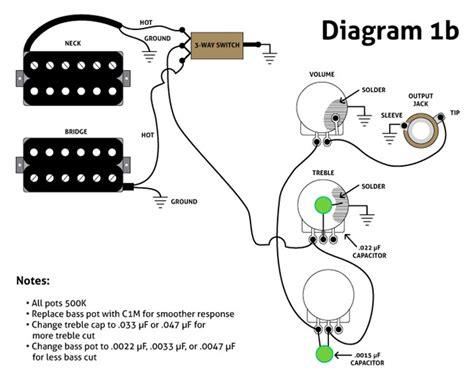 guitar volume tone wiring wiring diagrams wiring diagrams