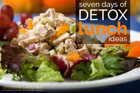 Detox Lunch Recipes by Seven Days Of Detox Lunch Ideas