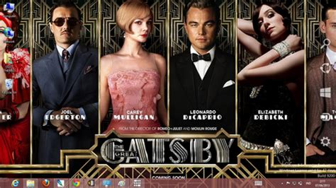 the theme of the great gatsby is the great gatsby theme for windows 7 and 8 ouo themes