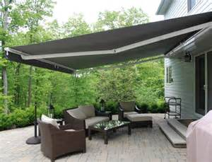 retractable awnings contemporary patio newark by
