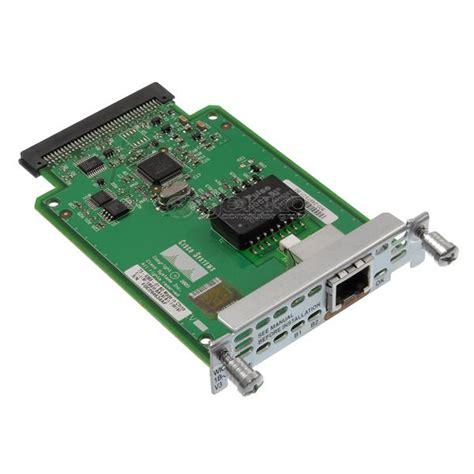 Modul Cisco Wic 1b S T cisco wan interface card 1 port isdn bri s t wic 1b s t v3