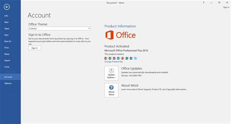 What Is The Version Of Microsoft Office Microsoft Office 2016 Free Version