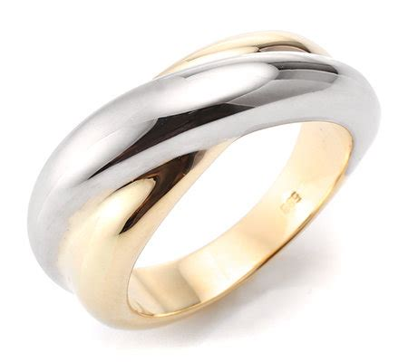 Gold Polieren Preis by Goldrausch Gold 585 Croise Ring Bicolor Poliert Page 1