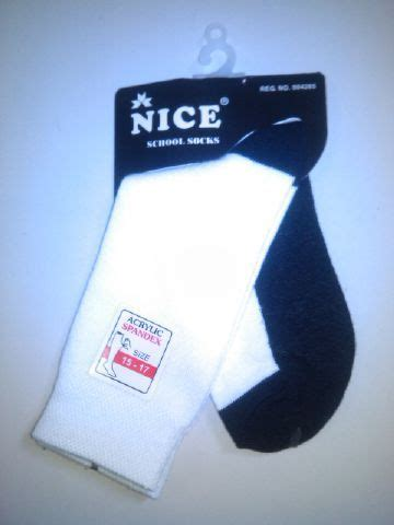 Kaos Kaki Hitam Puti konveksi kaos kaki hitam putih di depok produsen kaos kaki