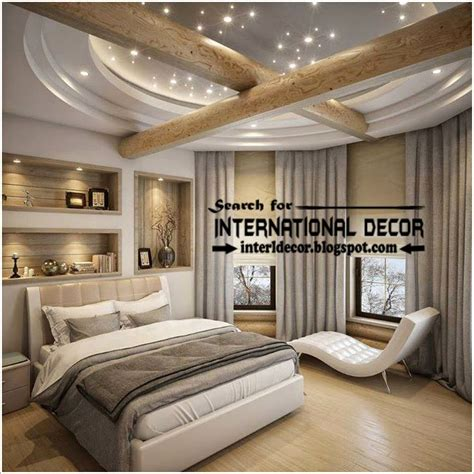 contemporary pop false ceiling designs  bedroom