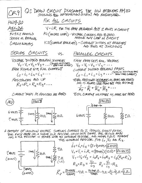 resistors in series and parallel circuits lab answers uncategorized circuits worksheet klimttreeoflife resume site