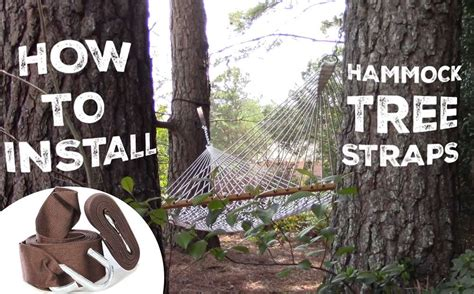 how to hang your tree how to use and hang your hammock tree straps