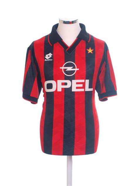 1995 96 ac milan home shirt m for sale